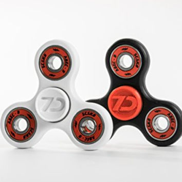 NEW 7D Customs EDC Spinner Tri- Fidget Toy - Ultra Durable Build, ABEC 9 Bearings (Only ONE spinner included) MADE IN THE USA