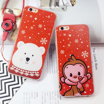 Hot Deal On Sale Stylish Iphone 6/6s Hot Sale Cute Korean Apple Soft Phone Case [6034145025]