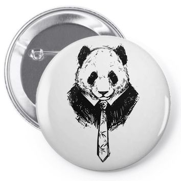 working panda Pin-back button