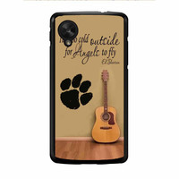 Ed Sheeran Guitar And Song Quotes Nexus 5 Case