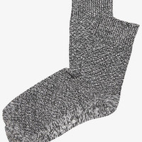 MARLED TEXTURED KNIT BOOT SOCKS from EXPRESS
