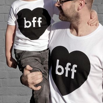 Daddy and Me BFF Matching Shirts