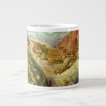 Ernst Haeckel Chelonia Turtle Giant Coffee Mug