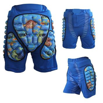 Skateboarding Shorts Child Sport Racing Skiing Safety Protective Motorcycle Snowboard Skating Roller Armor Pad Hip Protector Q15