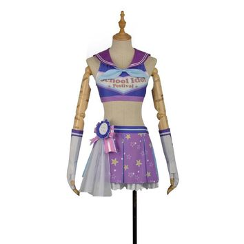 LoveLive Sunshine Aqours  Mari Ohara Cosplay Costume Stage Performence Clothes , Perfect Custom for You !