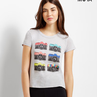 Aeropostale  Camera Graphic T