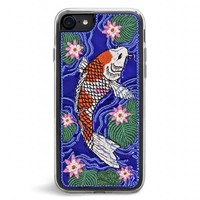 Koi Embroidered iPhone 7/8 Case