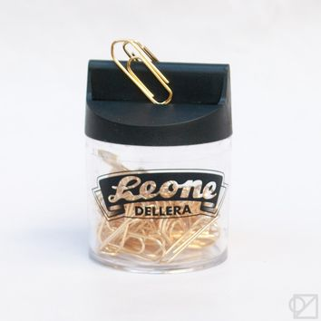 Leone Gold-Plated Paper Clips - Omoi Zakka Shop