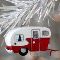 Quirky Mobile Home for the Holidays Ornament by ModCloth