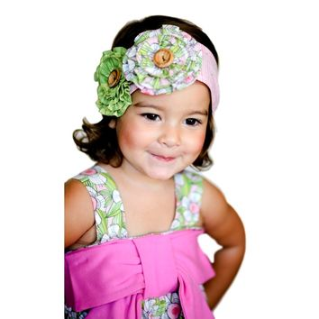 Giggle Moon-Light of Life Floral Headband  (size Toddler)