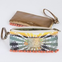 Create Your Own Sunshine #livehappy Simple Wristlet