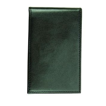 Hero's Pride Leather Notepad Case, Smooth, Notepad Included