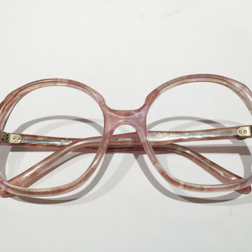 New Old Stock, NOS,Vintage Diane Von Furstenberg Glasses Frames,  FLAMINGO Glasses Frames