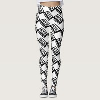 Vintage 80s Cassette Tape Leggings