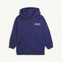 BALENCIAGA - Molleton logo cotton-blend hoody 2-10 years | Selfridges.com