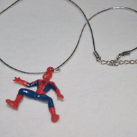 Spiderman Necklaces