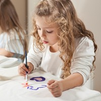 Paint Your Own Pyjamas painting party gift set at Pixie Dixie