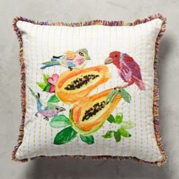 Spice Island Pillow by Rebekah Maysles