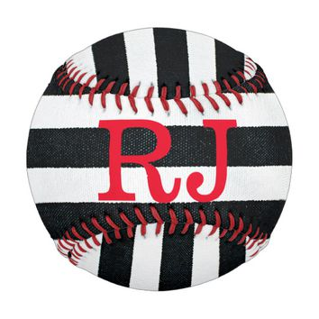 Checkered Monogram Baseball
