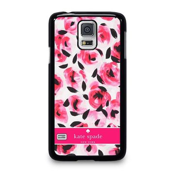 KATE SPADE NEW YORK PINK ROSE Samsung Galaxy S5 Case Cover
