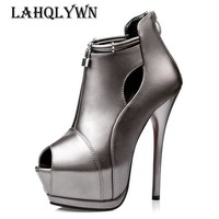 14cm extreme high heels pumps women platform peep toe Nightclub sexy pumps women shoes heels P173