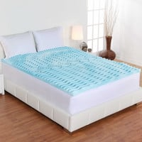 Fresh Rx® Liquid Gel-Infused Orthopedic Foam Mattress Topper