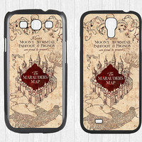 Harry Potter Marauders Map Samsung Galaxy S3 S4 Case,Harry Potter Marauder's Map Galaxy S3 S4 Hard Case,Marauder Map cover skin Case, More
