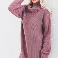 Forget Me Not Sweater Dress