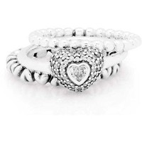 Authentic Pandora Jewelry - Summer Love Ring Stack