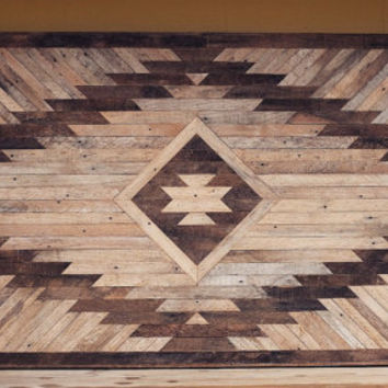 Reclaimed Wood Wall Hanging or Headboard
