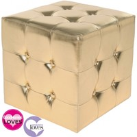 Glamour Girl Gold Cube