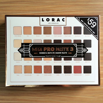 Lorac 32-color Eye Shadow [11043712844]