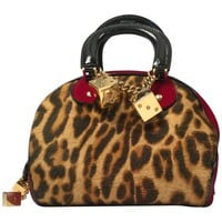 "Christian Dior Pony Hair ""Gambler"" Handbag, 2004"