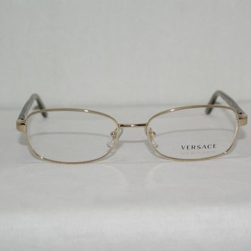 New VERSACE Eyeglasses Mod. 1213 Color 1252 Sz. 53-17-135 W/Original Case!