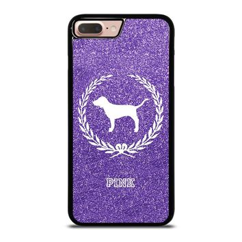 PINK DOG VICTORIA'S SECRET iPhone 8 Plus Case Cover