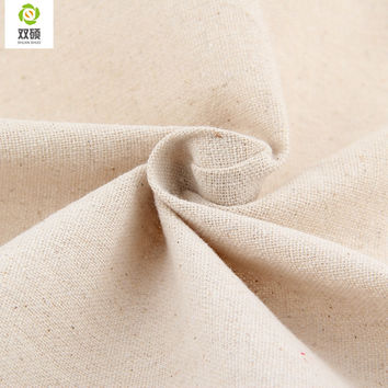 Natural Color Linen Fabric Qualities linen Cloth For Curtains Sofa Bags Tablecloths Cover 155*50CM PCS