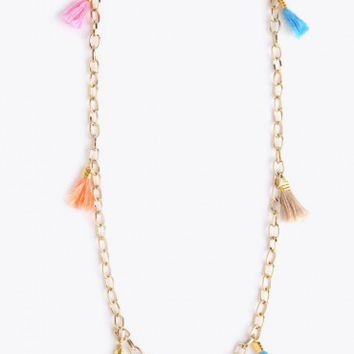 Tegan Fringe Necklace