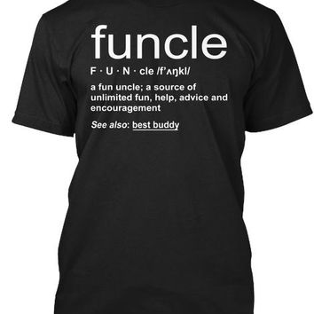 Funny Funcle Word Definition Uncle Gift