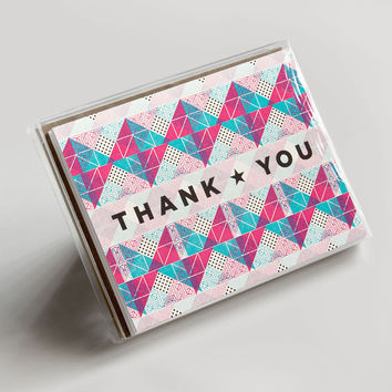 Thank You Bright Triangles Boxed Set