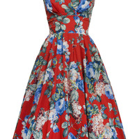 1950s Trudy Scrumptious Day Dress