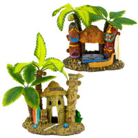 Top Fin Aquarium Tahiti Village Ornament