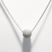 LUCIA CAN - Silver Necklace- Everyday Jewelry - Simple Handmade Jewelry - Fine Jewelry