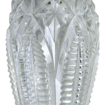 Sterling Silver Cut Crystal Perfume Bottle By Gorham