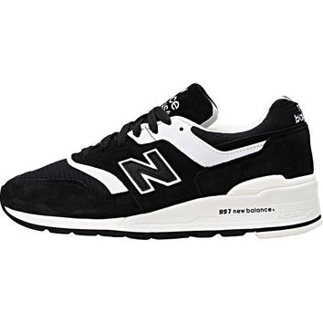 CREYONV new balance 997 made in usa limited black white