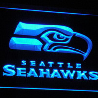 Seattle Seahawks Bar Pub Neon Sign