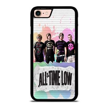ALL TIME LOW PERSONIL BAND iPhone 8 Case Cover