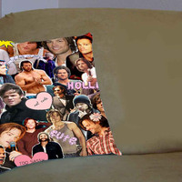 Sam Winchester Supernatural Collage - Pillow Case, Pillow Cover, Custom Pillow Case **