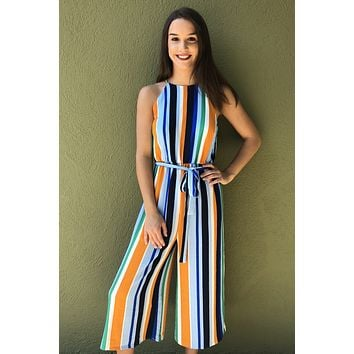 Like I Do Jumpsuit - Multicolored
