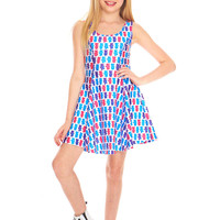Girls Berry Bears Skater Dress