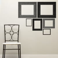 wall decal - Dark Frames